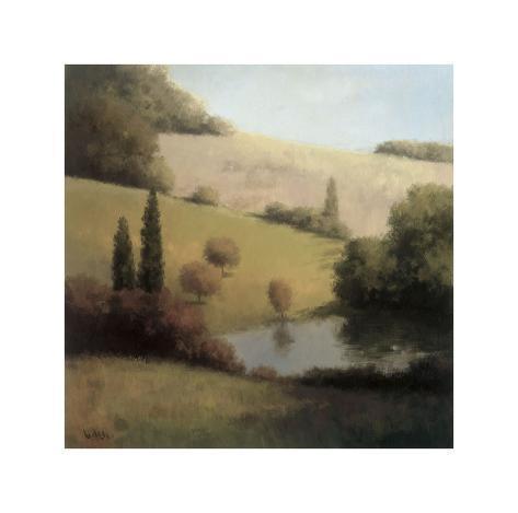 Inspired Hillsides I Giclee Print