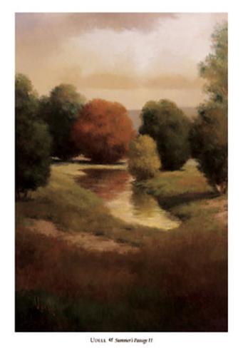 Summer's Passage II Art Print
