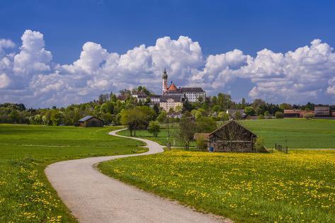 Germany Bavaria Upper Bavaria F Nfseenland Andechs