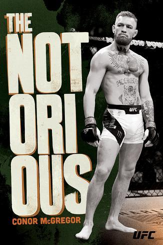 UFC: Conor McGregor-The Notorious Póster