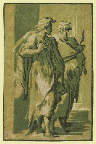 Saints Peter and John, Between 1500 and 1610 Lámina giclée