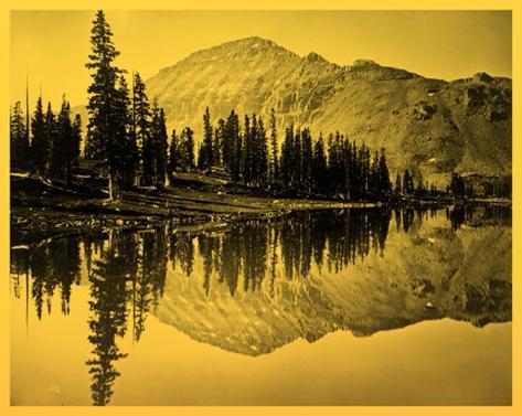Uintah Mountains Masterprint