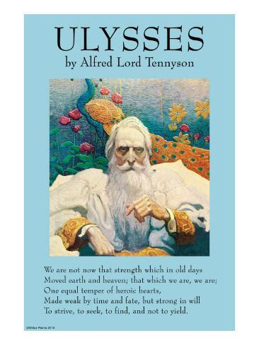 an analysis of the poem ulysses by alfred lord tennyson Summary of lines 1-11 of the poem ulysses line-by-line analysis.