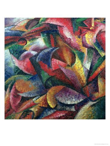 Dynamism of the Body, 1913 Giclee Print