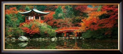 Daigo Shrine, Kyoto, Japan Framed Art Print