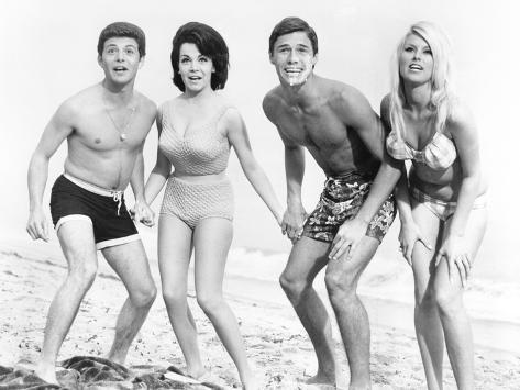 Una sirena sulla spiaggia Foto