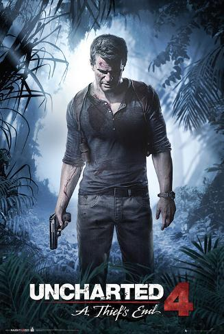 Uncharted 4- A Thiefs End Poster