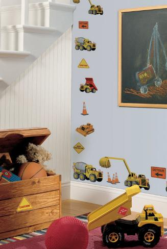 Under Construction Wall Decal
