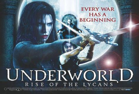 Underworld 3: Rise of the Lycans Impressão original