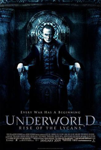 Underworld- Rise Of The Lycans Double-sided poster