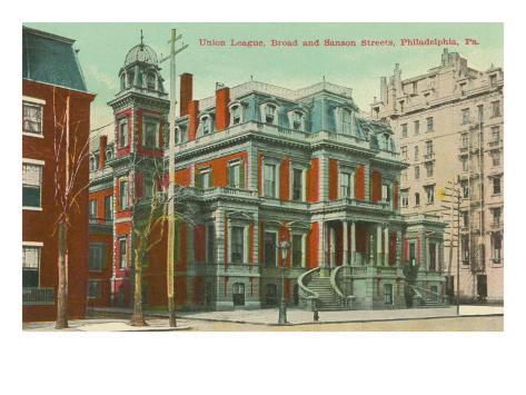 Union League, Philadelphia, Pennsylvania Art Print