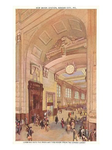 Union Station, Kansas City, Missouri Art Print