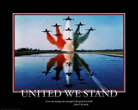 United We Stand Art Print