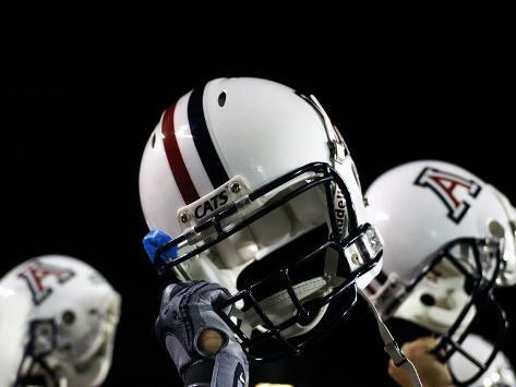 University of Arizona - Arizona Football Helmets Photo