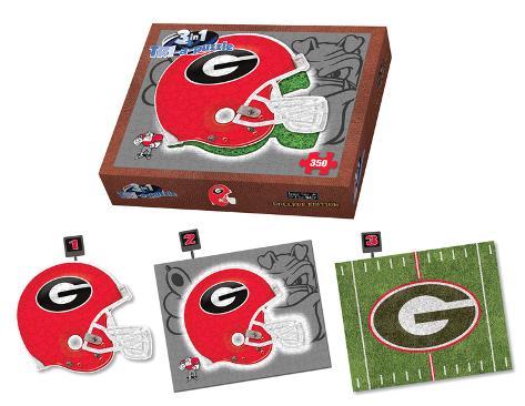 University Of Georgia Bulldogs Georgia Puzzle Jigsaw Puzzle