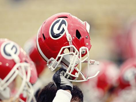 University of Georgia - Georgia Helmet Photo
