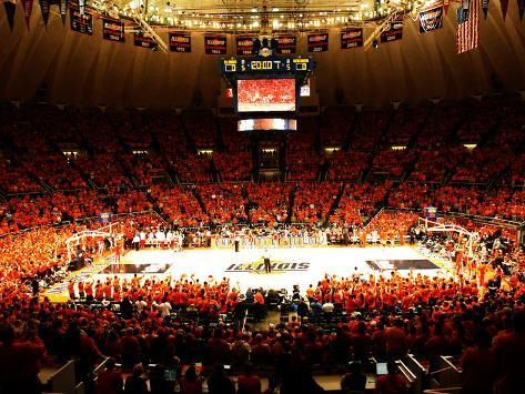 University of Illinois - Paint the Hall Orange Photo