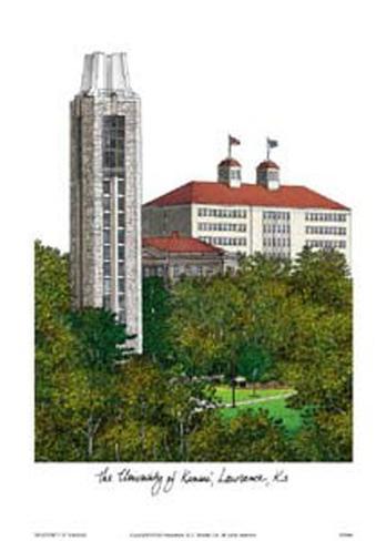 University of Kansas Art Print