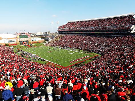 University of Louisville - Papa John's Cardinal Stadium Stretched Canvas Print