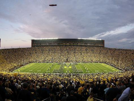 University of Michigan - Under the Lights: Michigan vs Notre Dame Photo