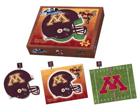 University Of Minnesota Golden Gophers Minnesota Puzzle Jigsaw Puzzle