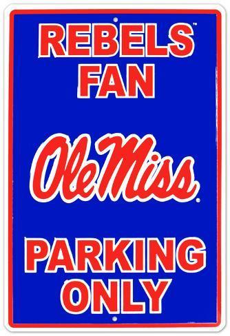 University of Mississippi Tin Sign