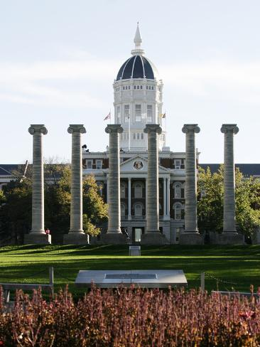 University of Missouri - Campus Centerpiece Photo