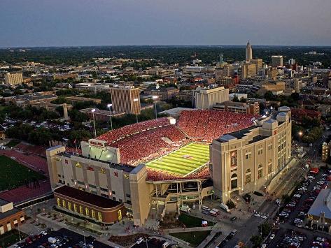 University of Nebraska - 300th Sellout at Memorial Stadium Photo