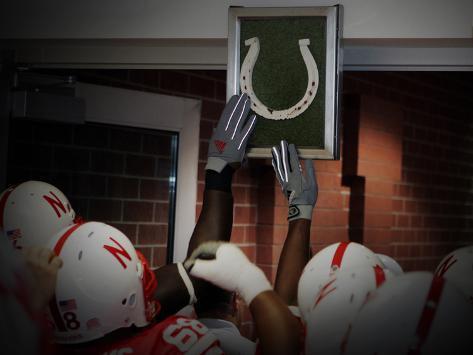 University of Nebraska - Lucky Horse Shoe Photo
