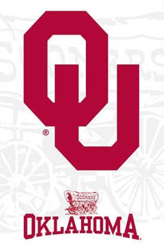 University of Oklahoma Sooners Logo Poster