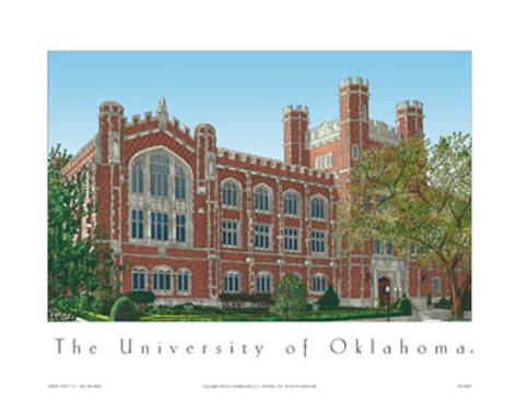 University Of Oklahoma Art Print