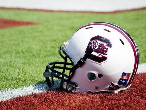 University of South Carolina: South Carolina Helmet Photo