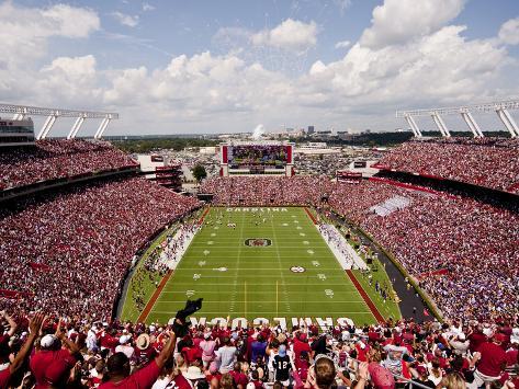 University of South Carolina: South Carolina: Williams-Brice Stadium Endzone View Photo