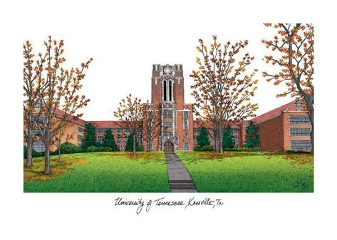 University of Tennessee Knoxville Art Print