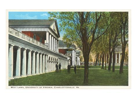 University of Virginia, Charlottesville, Virginia Art Print