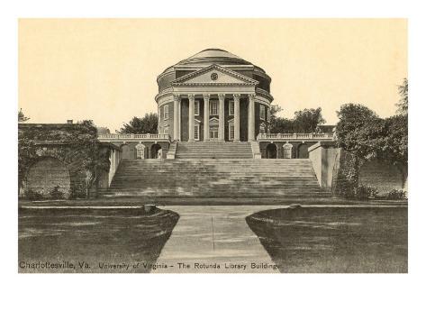 University of Virginia, Charlottesville Art Print