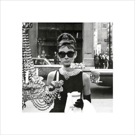 Audrey Hepburn – Window Art Print