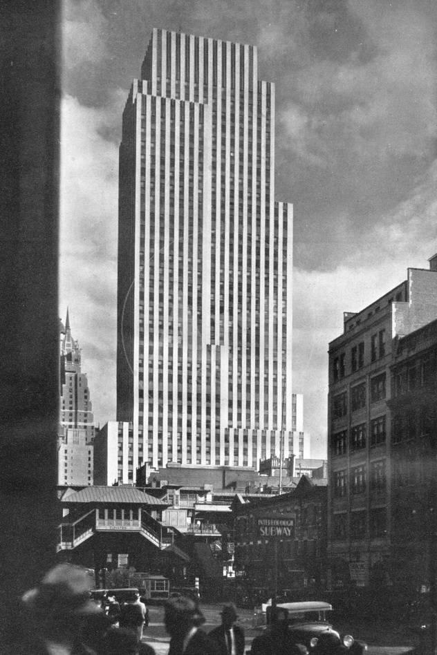 Daily News Building New York City 1933 Photographic Print By