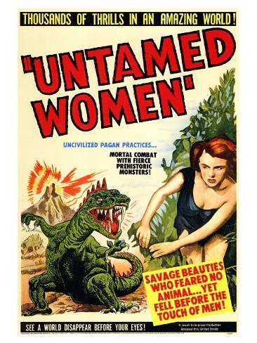 Untamed Women, 1952 Konstprint