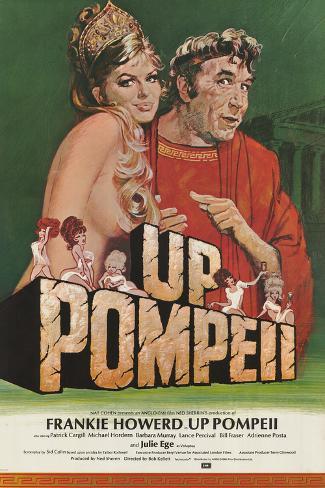 Up Pompeii Art Print