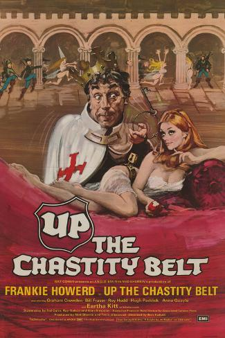Up the Chastity Belt Art Print