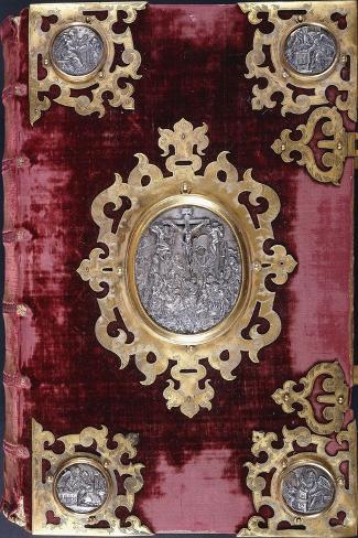 Upper Cover of a German Bible Lámina giclée
