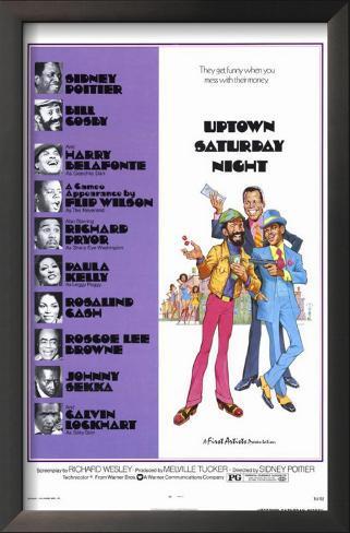 Uptown Saturday Night Impressão artística emoldurada