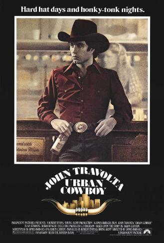 Urban Cowboy Stampa su tela