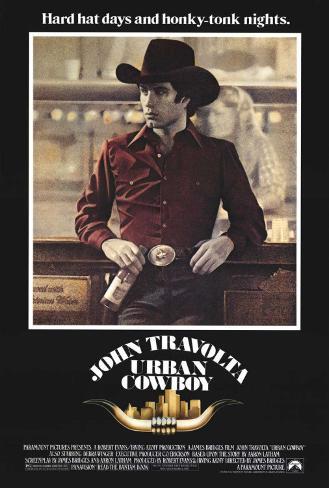 Urban Cowboy Stretched Canvas Print