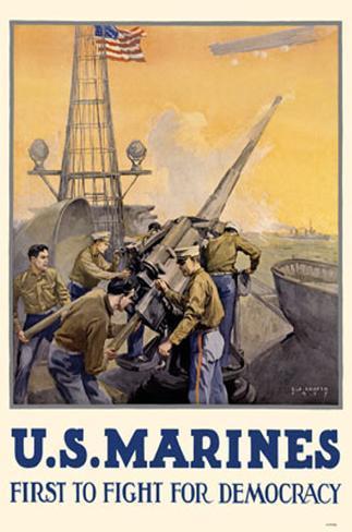 US Marines Masterprint