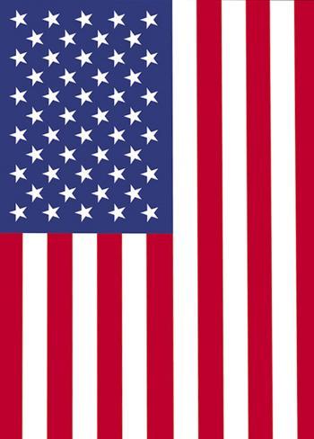 USA 2-Sided Garden Flag Flag