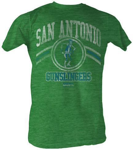 Usfl g slingers t shirt for Custom t shirts san antonio tx