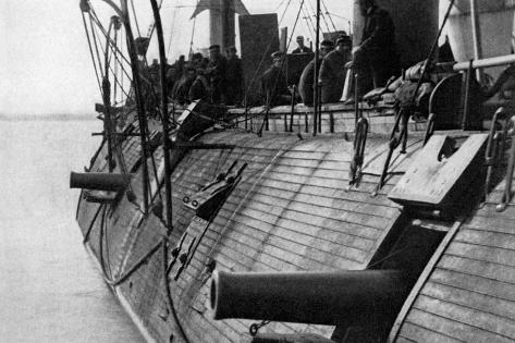 Uss Galena Ironclad Wall Decal