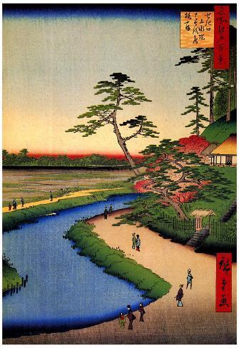 Utagawa Hiroshige Kanda Aqueduct at Sekuguchi Art Print Poster Poster